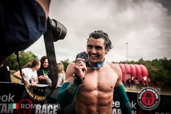 Grégoire médaille spartan race