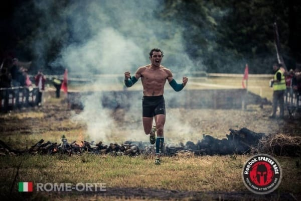 Grégoire Rezzonico vainqueur spartan race