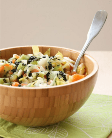 recette salade nordique spiruline