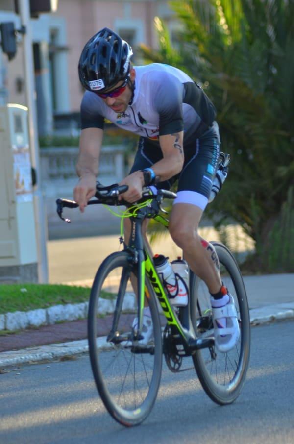 Anthony Berthou triathlète