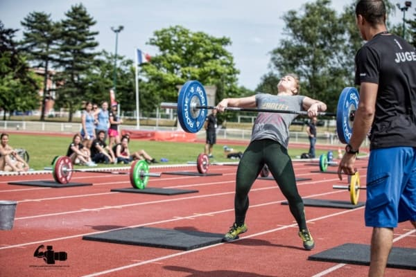 Tina Moeglin Snatch French Throwdown 2016