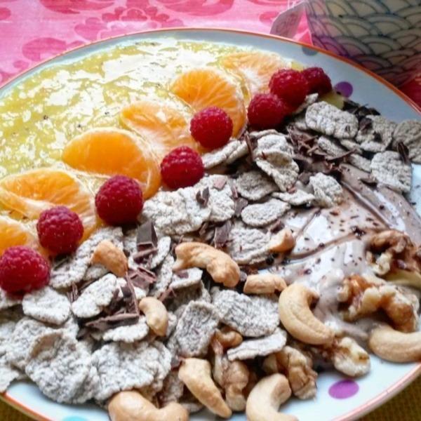 petit-déjeuner protéiné végétarien végan-recette-