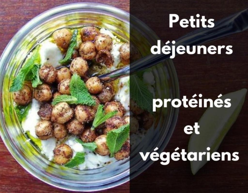 recette de petits déjeuner protéiné végétarien vegan simple