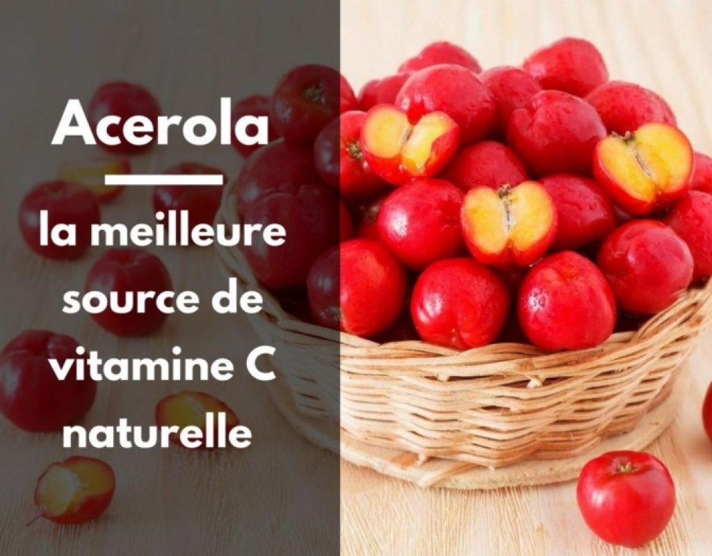 acerola vitamine C naturelle - alternative a la vitamine C de synthèse
