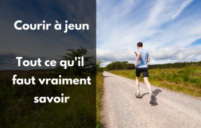 courir à jeun conseil préparation marathon