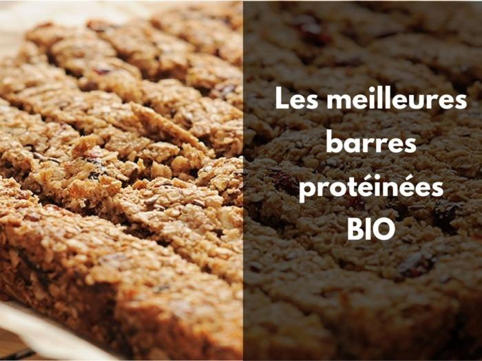 Les barres protéinées naturelles bio et vegan