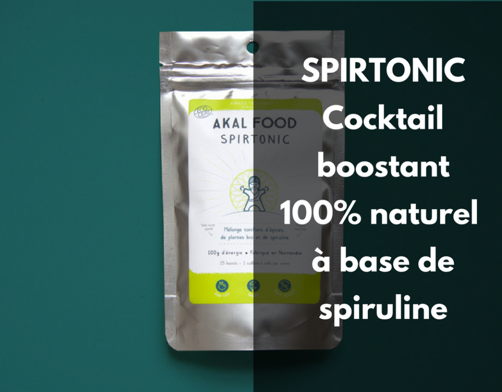 Spirtonic - cocktail boostant spiruline