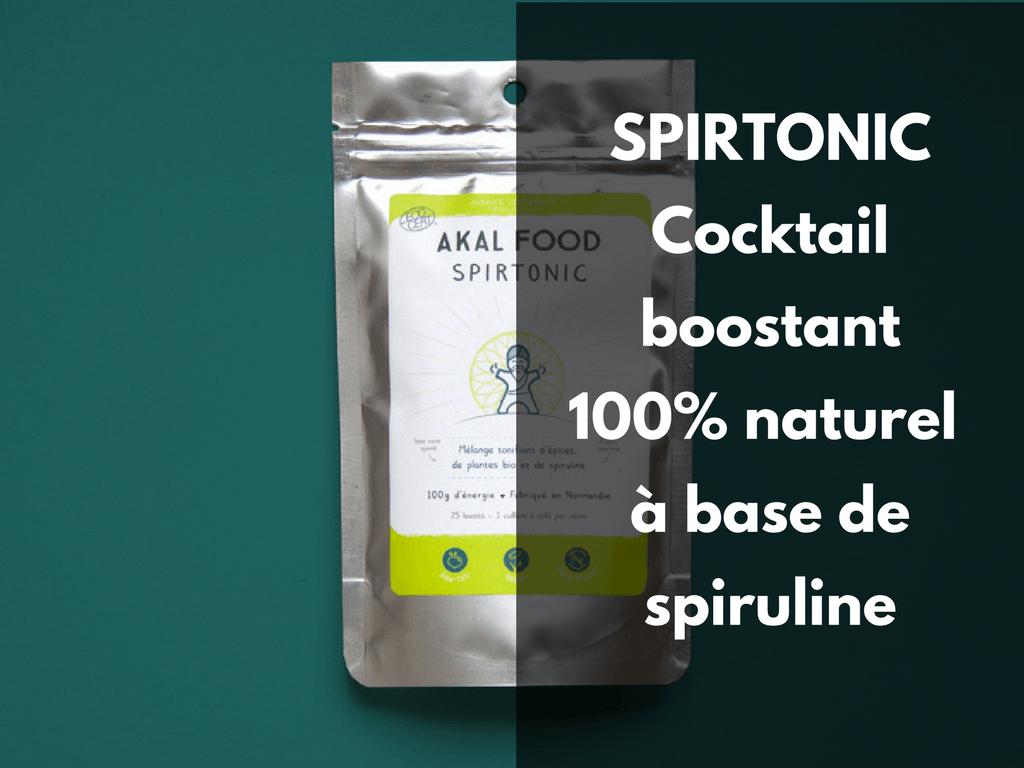 Spirtonic - cocktail boostant spiruline