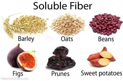 fibres solubles bienfaits santé