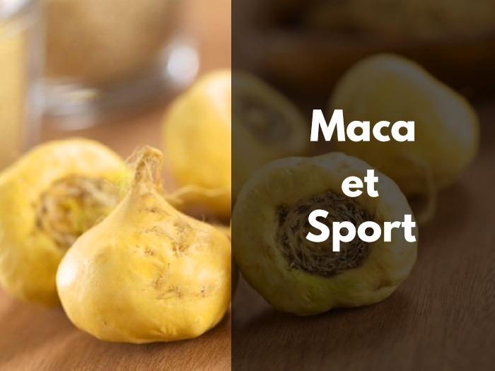 maca et sport