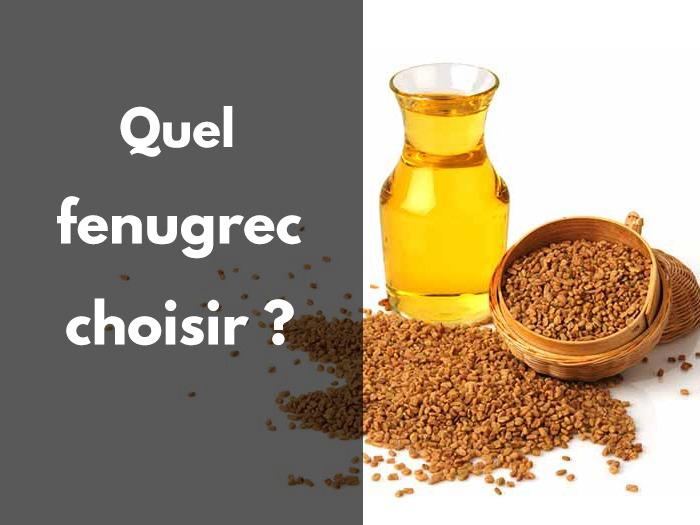 fenugrec, graine, gélules, comprimés, huiles, utilisation, plante