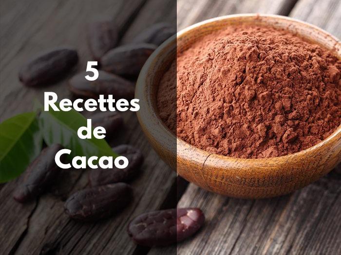 recettes de cacao en poudre