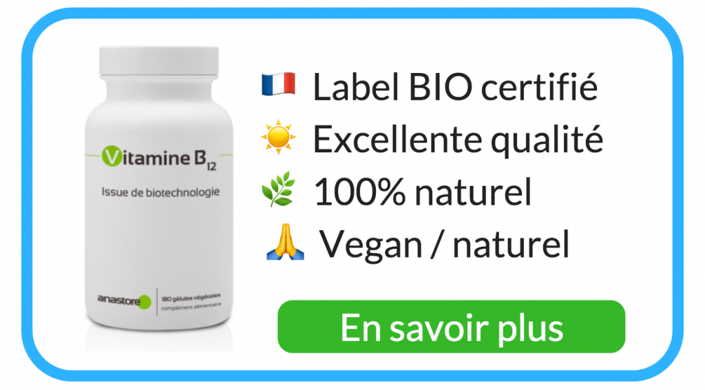 vitamine B12 vegan complément