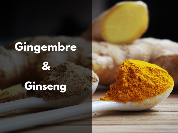 gingembre, ginseng, différences