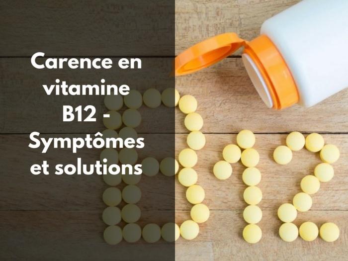 carence en vitamine B12