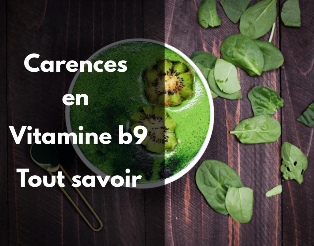 Carences en vitamines b9