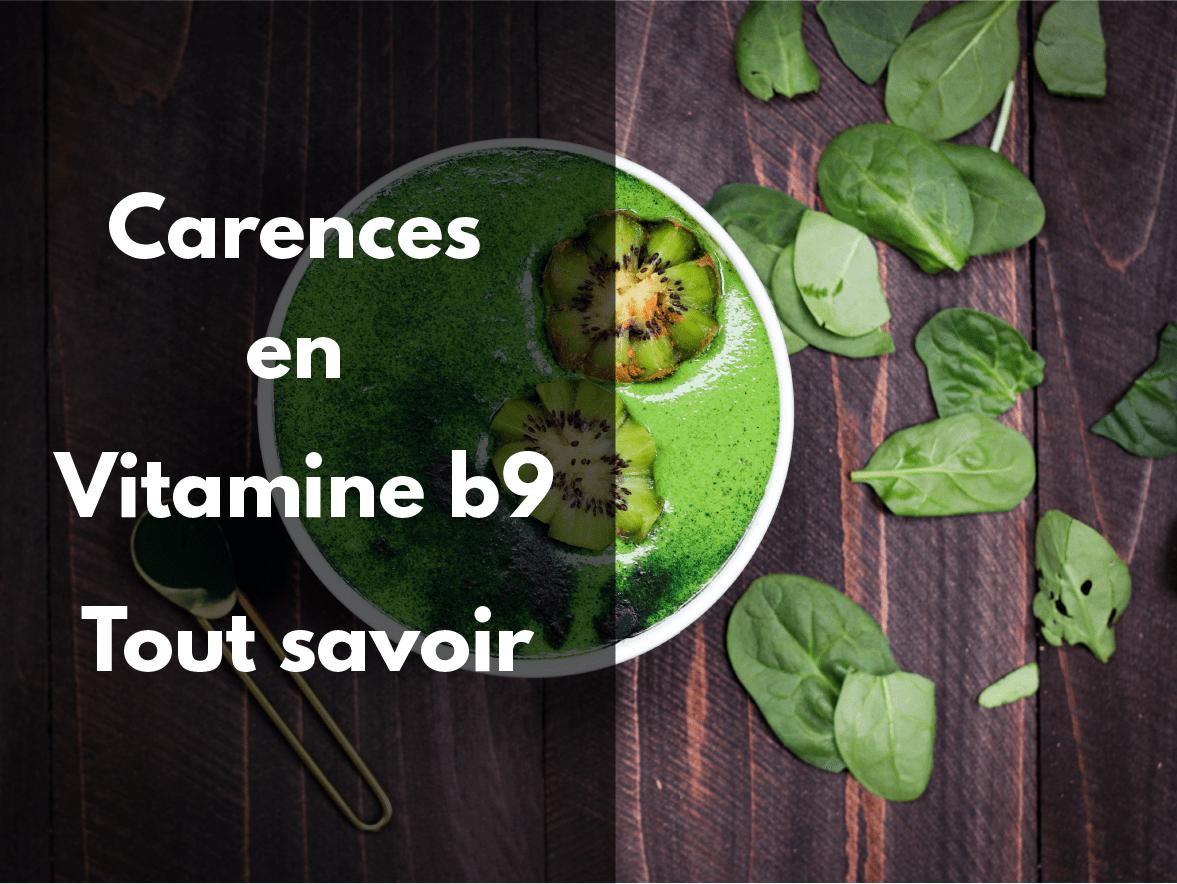 Carences en vitamine B9