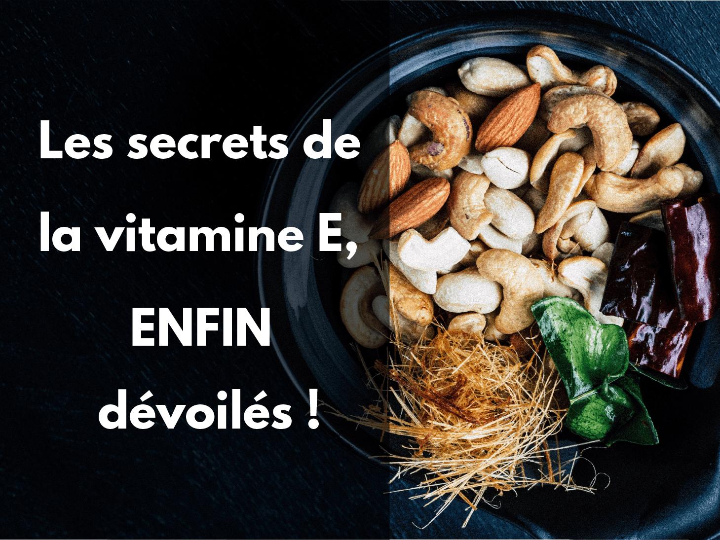 Aliments riche en vitamine E