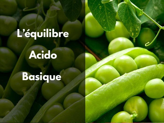 aliments; alcalins; alcalinisants; acide; équilibre