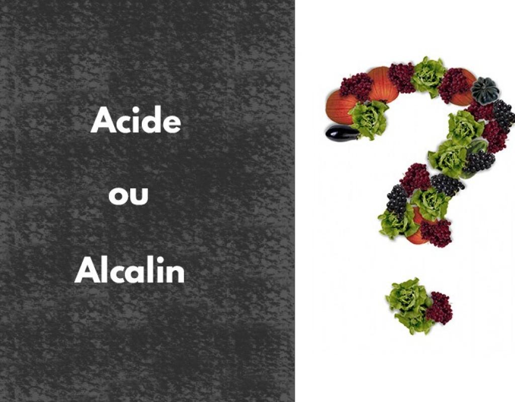 aliments; acides; alcalins