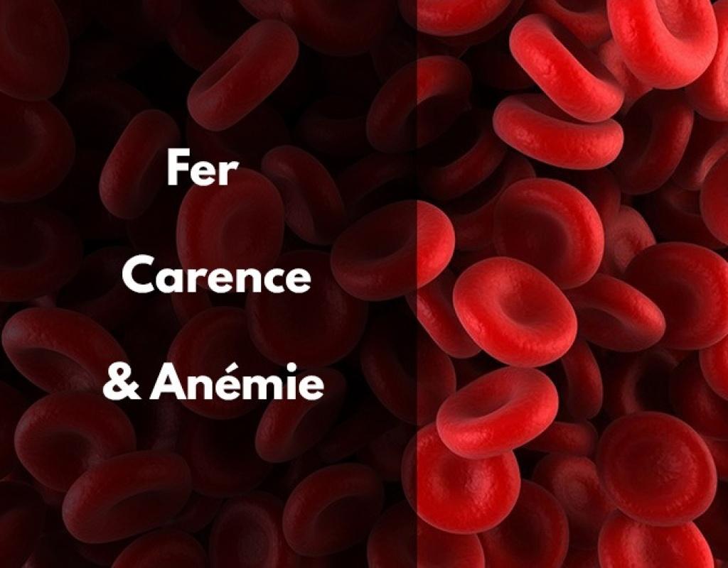 fer; carence; anémie; symptome; spiruline