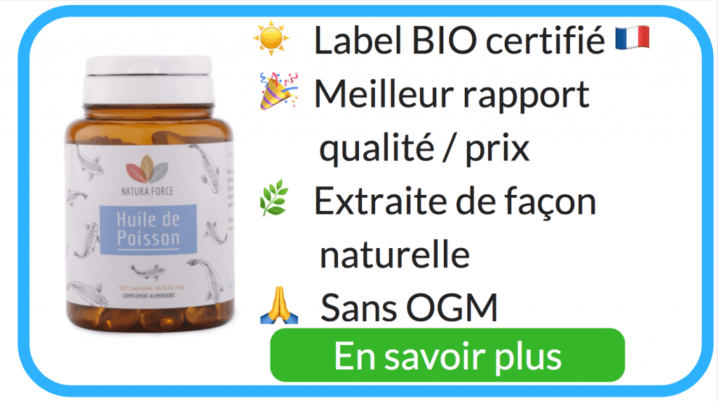 Acheter huile de poisson bio
