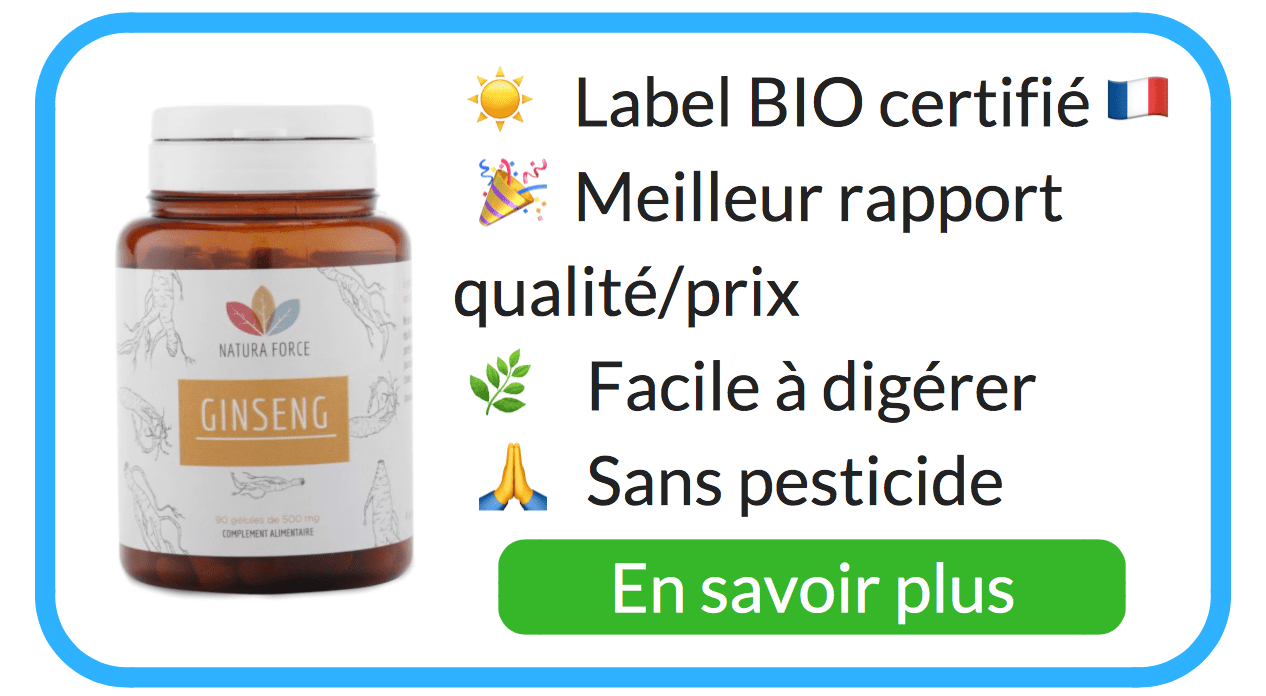 fatigue remede naturel ginseng