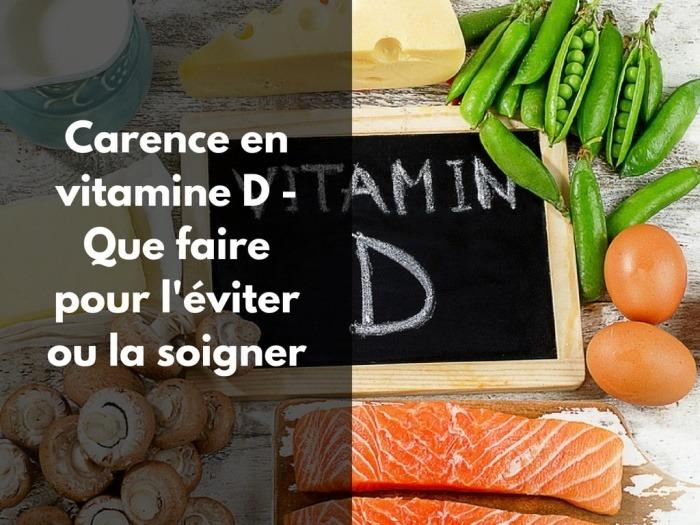 Quelle ampoule choisir en cas de carence en vitamine D ?