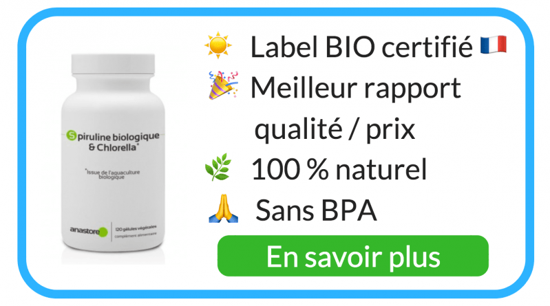 chlorella bio acheter