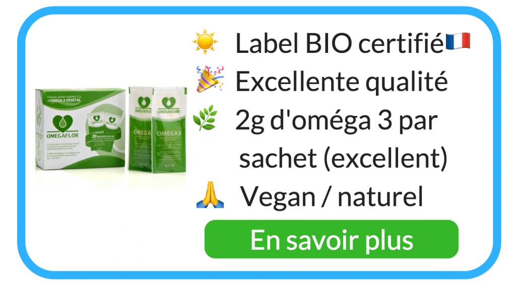 omega 3 vegan sources naturel