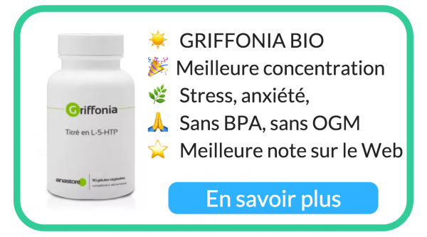 griffonia, stress, dépression, sérotonine, acheter griffonia bio