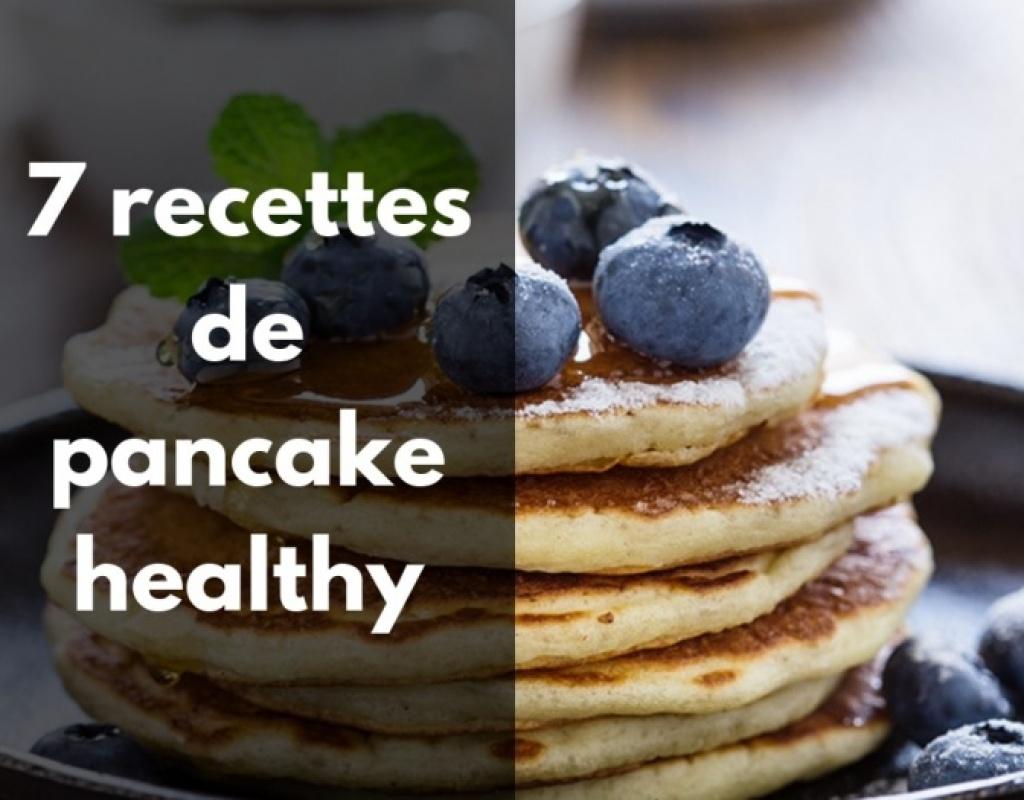 La meilleure recette de pancake healthy aux fruits rouges.