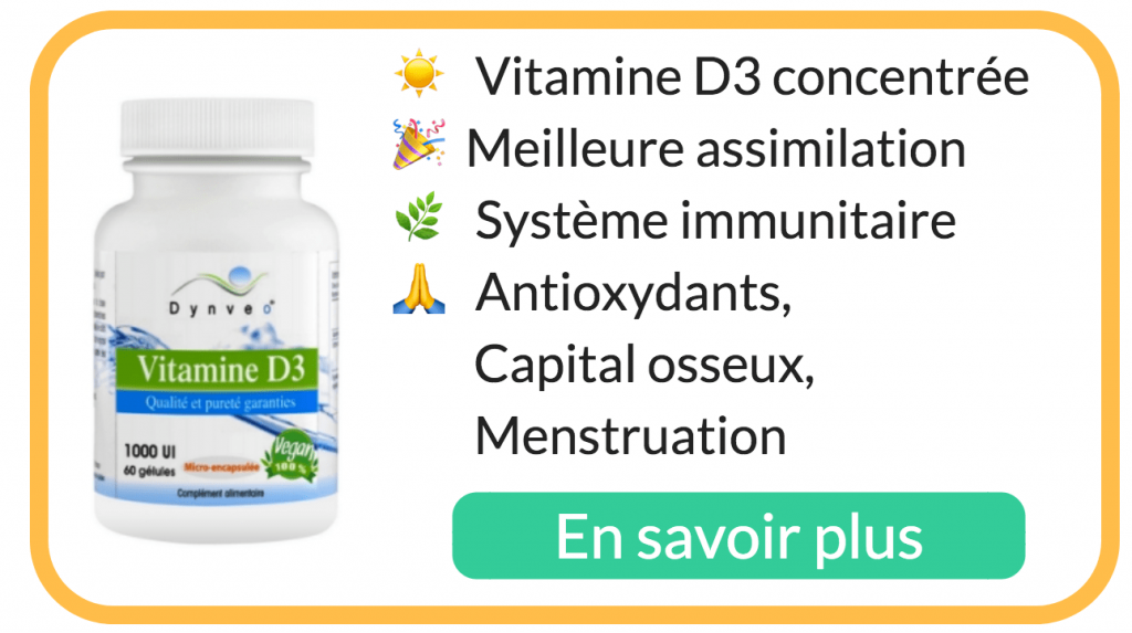 vitamine D3 carence bienfait achat avis dynveo