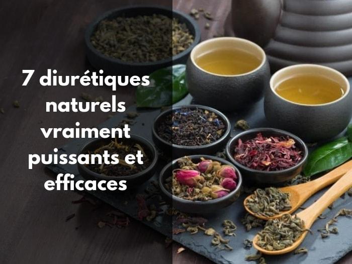 7 diurétiques naturels vraiment puissants et efficaces