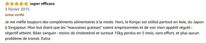 Konjac gélules bio avis amazon 1