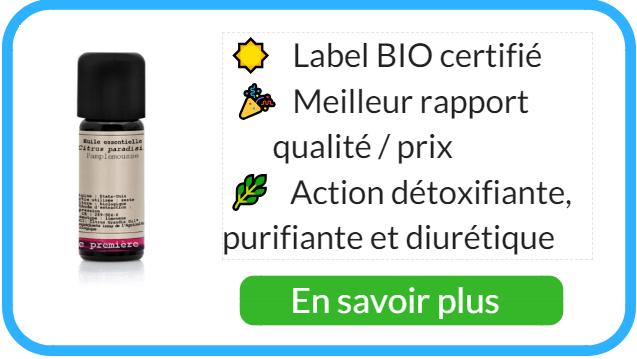 Où acheter de l'huile essentielle de pamplemousse diurétique ?