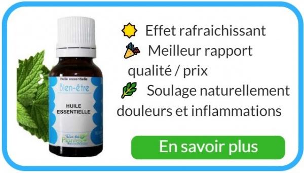 Où trouver de l'huile essentielle de menthe poivrée de qualité ?