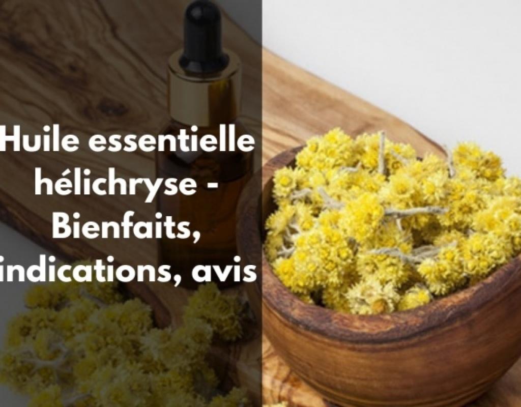 Comment utiliser l'huile essentielle hélichryse ?