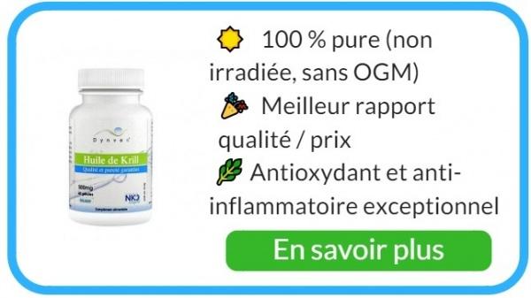 aliments alcalinisants huile de krill
