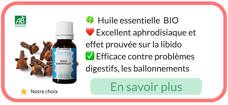 huile essentielle clou de girofle aphrodisiaque