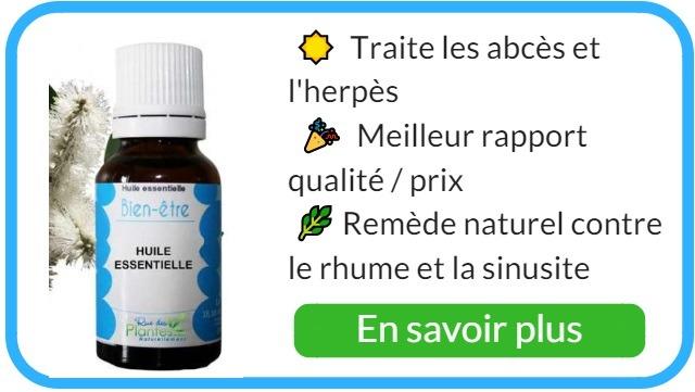 Où trouver de l'huile essentielle de niaouli bio ?
