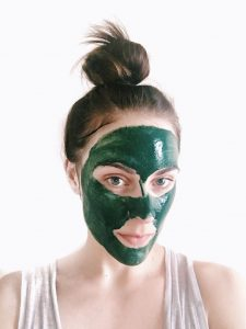 spiruline masque peau