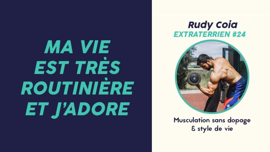 Rudy Coia musculation
