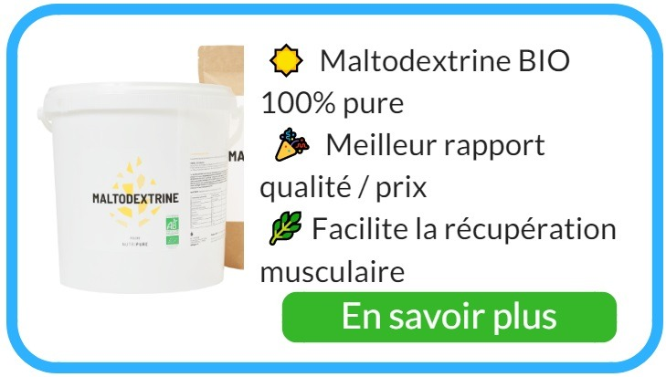 Où acheter de la maltodextrine pure ?