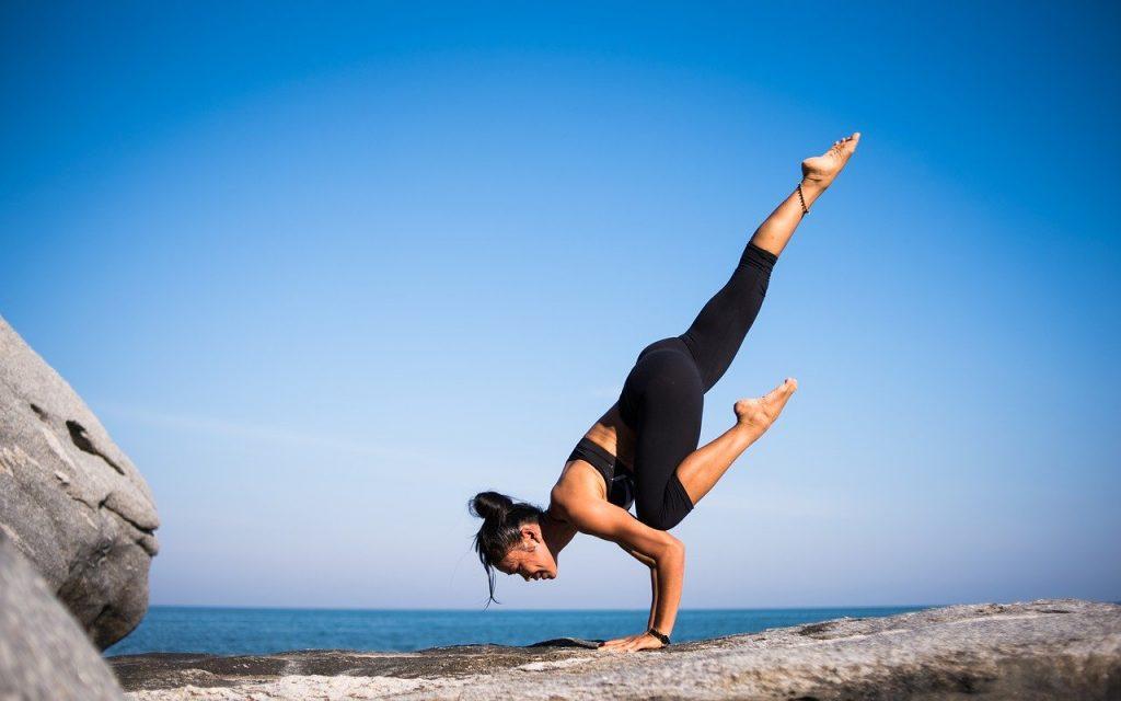 hack santé - position de yoga